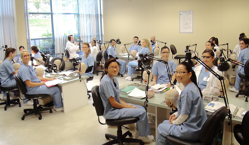 Vancouver College of Dental Hygiene student facilities